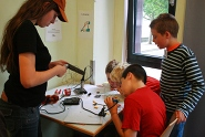 Kinder beim Workshop
